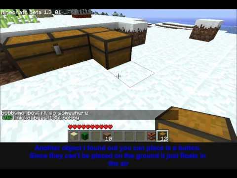 SMP Snow/Block Glitch (old)