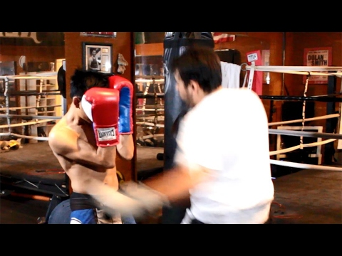 Trick Punch Combo (Fast 1-2, Big Left Hook)