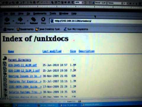 Solaris10 Apache Configuration Script