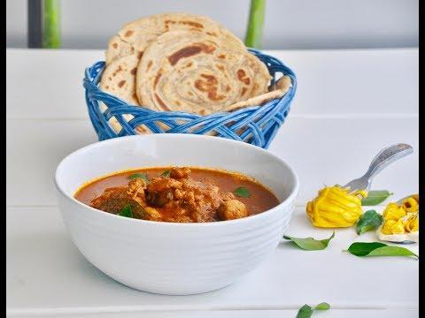 Kerala Varutharacha Chicken Curry/വറുത്തരച്ച കോഴി കറി/Iftar Nombuthura Dishes -Recipe no 156