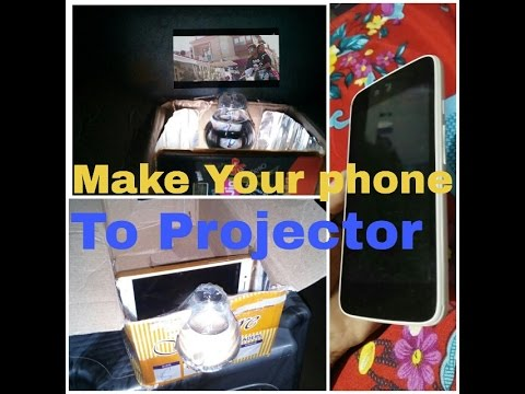 Make a Protector in Home || Made a Projector for any Phone || with in 5 min make a Projector