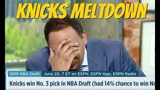 Stephen A Smith Knicks rants on ESPN First Take