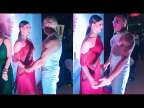 Xxx Mp4 Urvashi Rautela And Vin Diesel Get Chatty At The 39 XXx Return Of Xander Cage 39 Premiere 3gp Sex