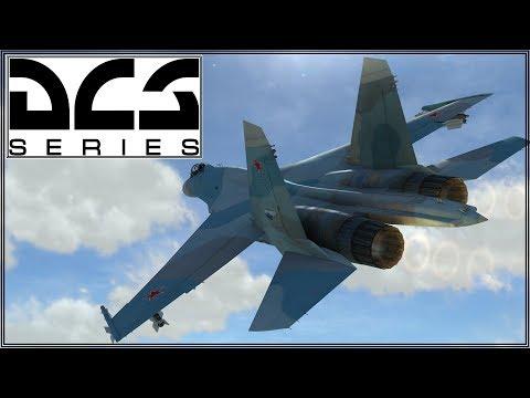 DCS 2.2 - NTTR - SU27 - Online Play - Battlefield Las Vegas