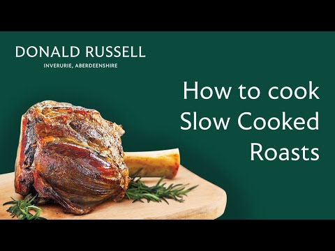 How to cook Slow Cooked Roasts