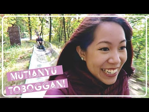 Mutianyu Great Wall Toboggan, Summer Palace, & A Rainy Forbidden City- Beijing!
