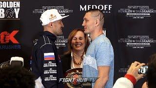 The return! Sergey Kovalev vs. Vyacheslav Shabranskyy Final Face Off Video