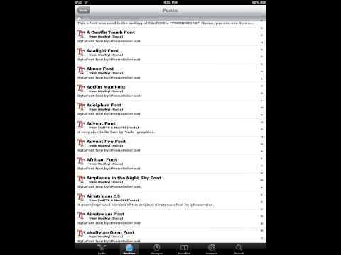 How To Change Font With Cydia