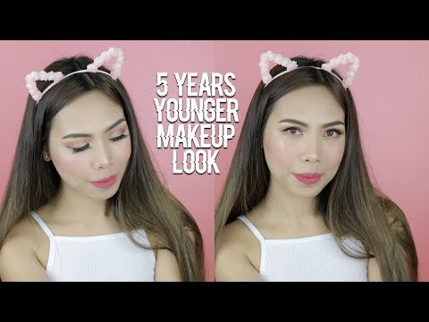 HOW TO LOOK YOUNG WITH MAKEUP?