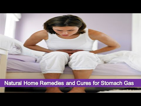 Natural Home Remedies and Cures for Stomach Gas