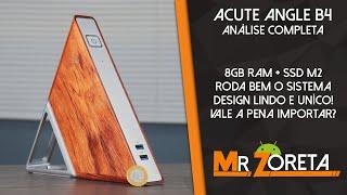 Mini-PC Barato! 8Gb Ram + SSD, IDEAL para o dia-a-dia! Desing Lindo e único! Acute Angle B4! ANÁLISE