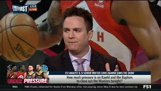 FIRST THINGS FIRST   Chris Mannix react to Raptors seeking 1st Champs in franchise history tonight