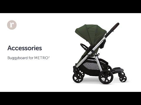 METRO² Pram - Buggyboard Instructional Video