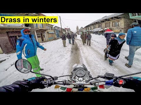 IT'S REALLY TOUGH | DRASS TO LEH  IN WINTERS | xtreme winter ladakh ride | EP- 5 |