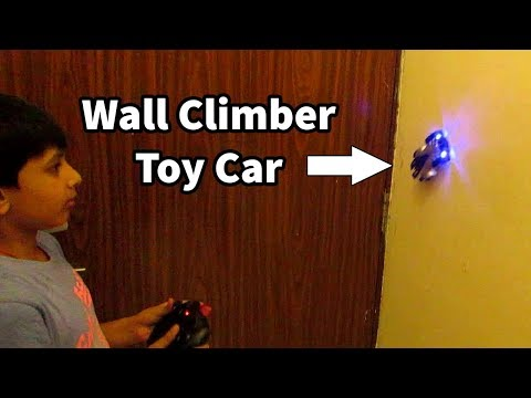 WALL CLIMBER TOY CAR FOR CHILDREN | RC CARS | TOYS FOR KIDS