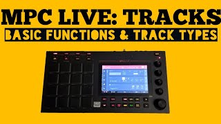 Akai MPC LIVE Tutorial - Drum Programs - how to load and