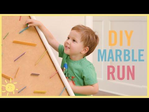 DIY | Marble Run