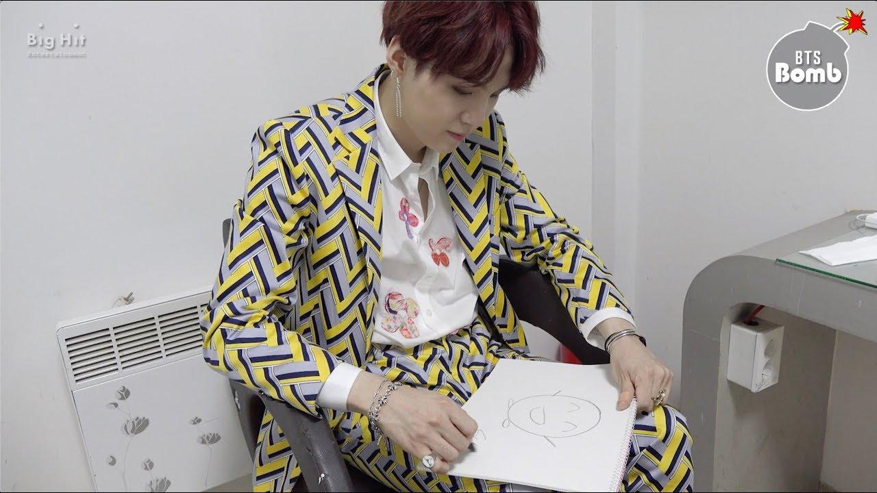 [BANGTAN BOMB] Drawing from 'IDOL' MV - BTS (방탄소년단)