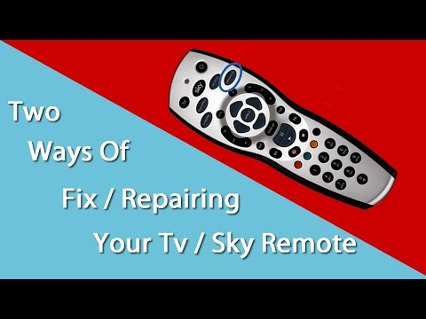 Two Ways To Fix Broken Sky Remote Cheap!