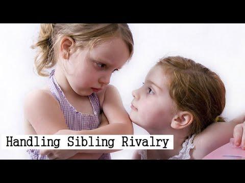 Handling Sibling Rivalry!