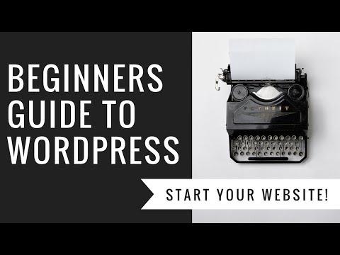 Beginners WordPress Tutorial! Learn how to build a website with WordPress. How To WordPress #1