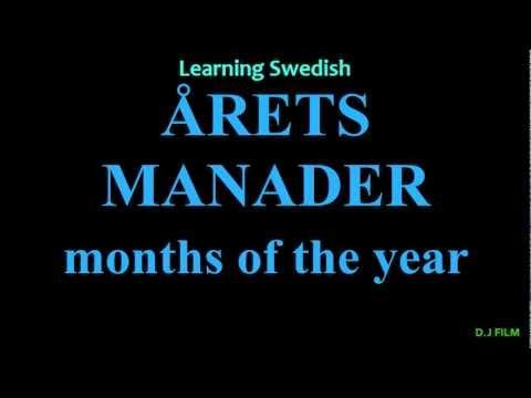 Learning Swedish (Lesson 8)