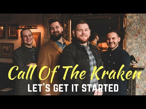 Call Of The Kraken // Let's Get It Started // Live In Session // Book at Warble Entertainment