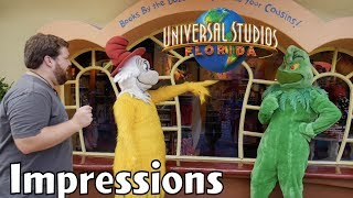 Did I Steal the Grinch's Voice?! - Universal Impressions