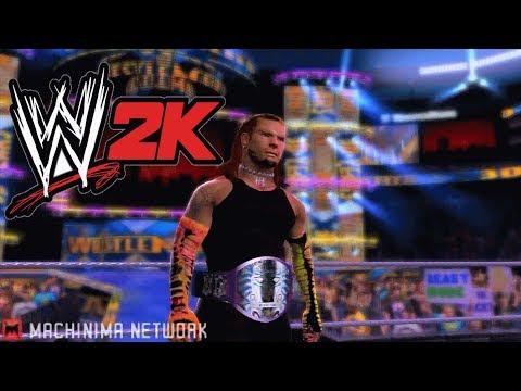 WWE 2K14 Jeff Hardy Immortal Belt Entrance Hack Mod Texture In Game Unlocked TNA Heel Champion
