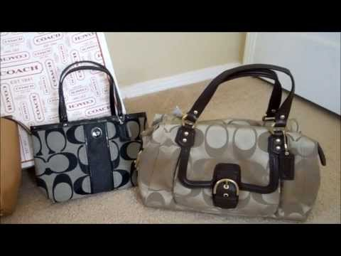 Coach retail handbags vs Coach factory outlet handbags