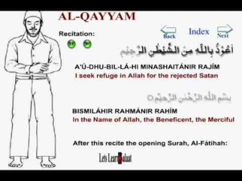 How to Pray Namaz with English Translation and pronounciation