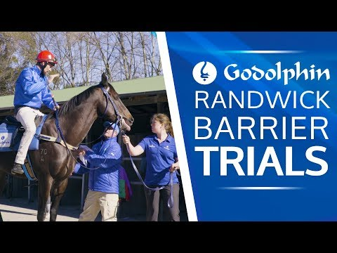 James Cummings' A-list string Barrier Trial at Randwick