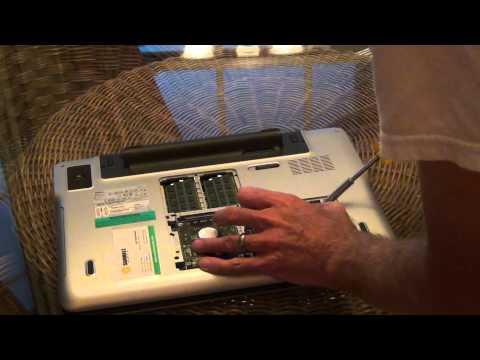 Dell Laptop XPS L702X Hard Drive Install