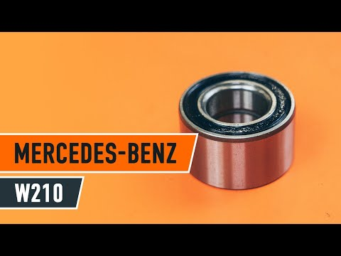 How to replace front wheel bearing MERCEDES-BENZ E W210 TUTORIAL | AUTODOC