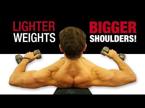 New Beginner Shoulder Workout For MASS (TO GET BIGGER SHOULDERS FAST) [4 1 2 1 GIANT SET ROUTINE!]