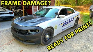 Rebuilding A Wrecked 2018 Dodge Charger Police Car Part 3