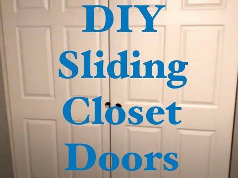 How to Install Sliding Closet Doors