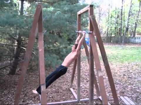 Ninja Warrior Training - Double Salmon Ladder 3