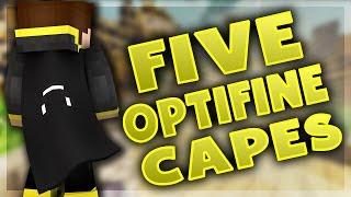 5 Black Optifine Cape Designs! (Best Minecraft Capes)