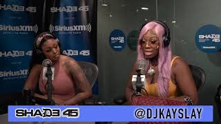 Diamond the Body interview with Dj Kayslay at Sirius XM
