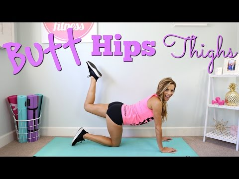 Butt, Hips & Thighs Shaping Workout!