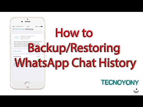 How to Backup, Restoring WhatsApp Chat History to iCloud