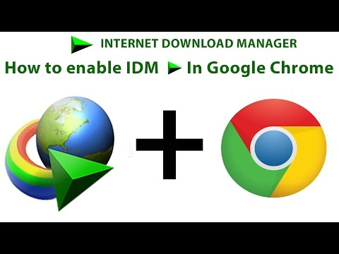 How to Enable IDM Extension In a Chrome - 2017