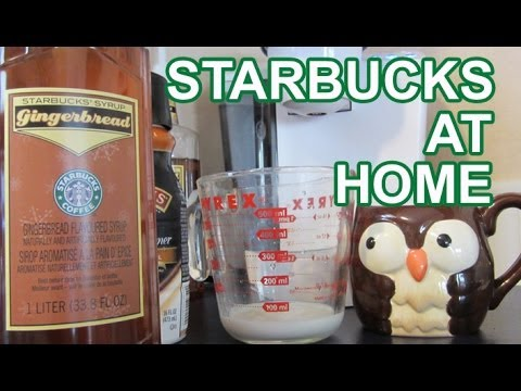 How To Make A Starbucks Coffee Latte At Home