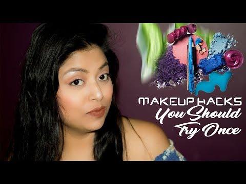 Easy Makeup Hacks To Try | Eyeshadow Hacks | Indian Makeup
