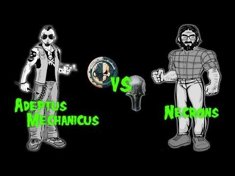Errant Battles EP 10: Adeptus Mechanicus vs Necrons