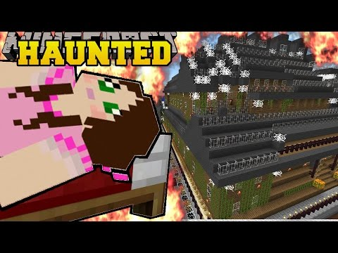 Minecraft: DROWNING IN A BURNING MAP?!! (HAUNTED HOUSE & FLASH FREEZE!) Mini-Game