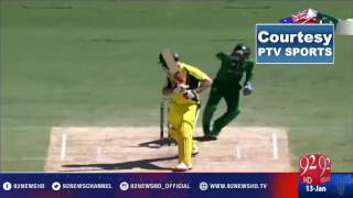 Australia v Pakistan: first ODI (13 Jan 2017) - 92NewsHD