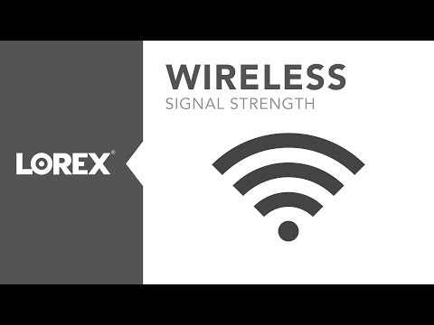 Check signal strength before Installing WiFi security cameras using smartphones