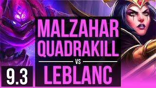 Malzahar Guide (Season 9) Mid Lane Runes, Combos & Matchups How To